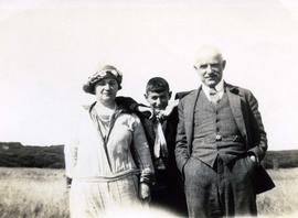 Eli, Jane, and Bill Fromson