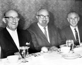 B'nai B'rith event - Three men at table
