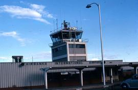 Airport Traffic Control Tower at Fairbanks International Airport