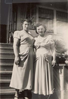 Chava Wosk and Esther Dayson