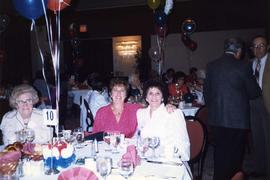 [Arlene Brisker and friend at B'nai B'rith Women event]