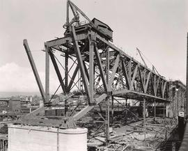 Granville Bridge - course-of-construction