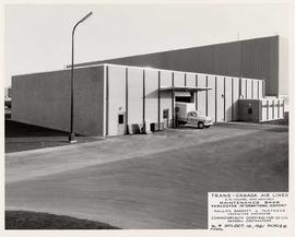 Trans-Canada Air Lines Maintenance Base upon completion, Vancouver International Airport, no. 4