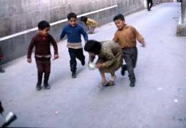 Unidentified group of children playing