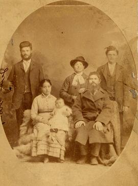 Dalkin family portrait, Winnipeg, Manitoba