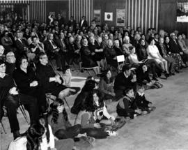 Performance - audience in JCC auditorium, photo 'A'