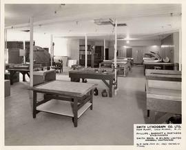 Work room, Smith Lithograph Co. Ltd.'s New Plant