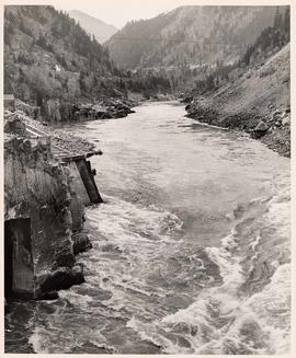 River rapids at Hell's Gate, Fraser Canyon