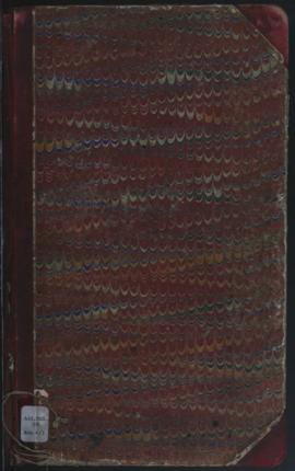 Account book (collections) 1886 - 1893