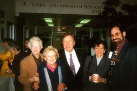 Bernie Simpson MLA - Fraserview 1990 - 1995 - Activities Jewish Community [A group of five unidentified people]