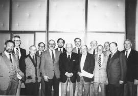 Beth Israel Men's Club Past Presidents honoured