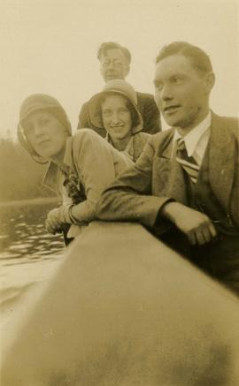 Arthur Laing and three unidentified people