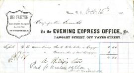 To the Evening Express Office - October 15, 1863