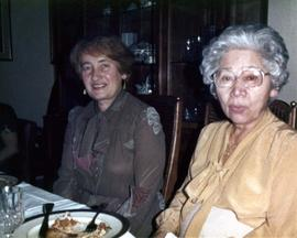 Ann and an unidentified woman