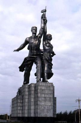 Worker and Kolkhoz Woman statue