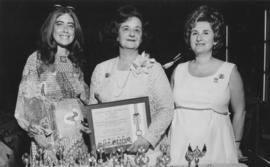 Hadassah Awards eve - three women with award