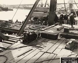 No. 21 - Granville Bridge, course of construction