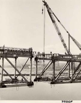 Second Narrows Bridge, Course of Construction, Proof