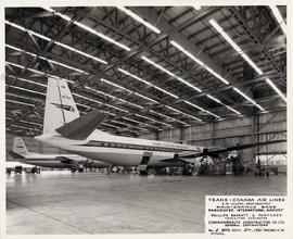 Trans-Canada Air Lines Maintenance Base upon completion, Vancouver International Airport, no. 8