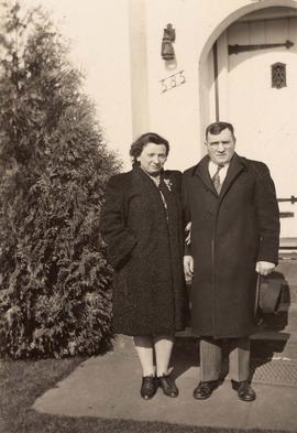 Dave Nemetz and sister Esther Dayson
