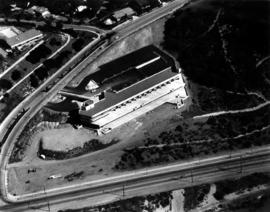 Aerial view of building at Bar-Ilan University