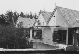 Louis Brier Home under construction