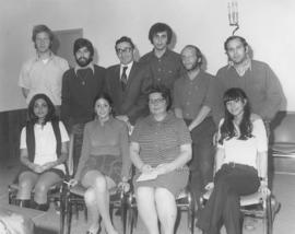 Unidentified group of people for Hillel
