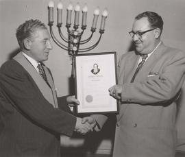 B'nai B'rith receives Akiba Award
