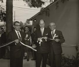 Ribbon cutting at the Louis Brier Home and Hospital