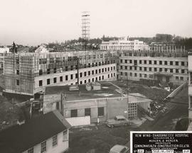 No. 24, Facing S.E. - New wing, Shaughnessy Hospital, Vancouver, B.C.