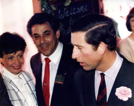 Prince Charles at Elephant & Castle
