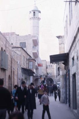 Street scene in the Old City of Jerusalem