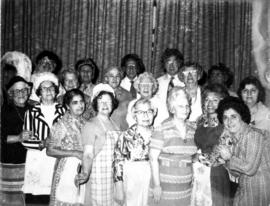 Golden Age Club - group of women in costume