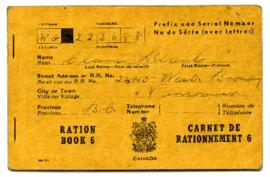 Ration Book - [Clara Blank]