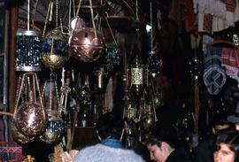 Variety of ornate Arabic lanterns