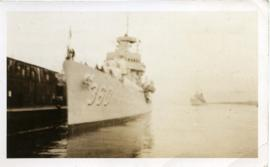 Escort Ship for Roosevelt