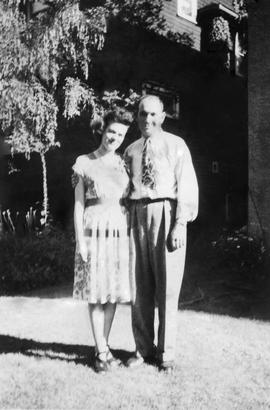 Photographs of [Blanche Spartan nee Mann + husband Jack]