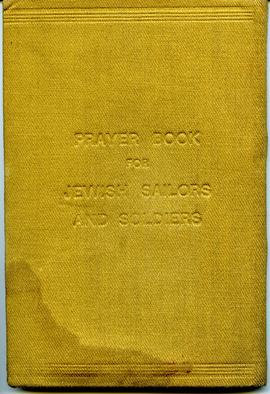 Jewish Soldier & Sailor Prayer Book