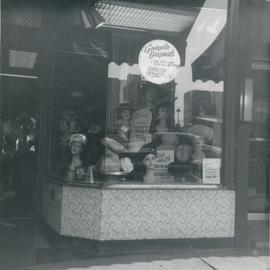 Georgette Hat Shop Front Display