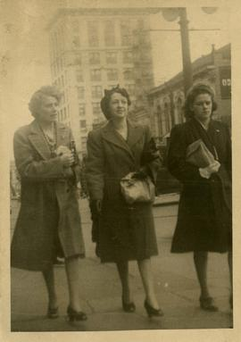 3 Women Walking