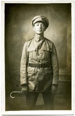 Soldier Photo Postcard 2
